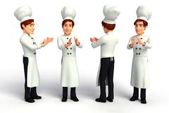 Young chef Stock Illustration