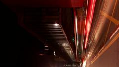 Vertical Avenida Paulista near Museum of Art MASP time lapse Sao Paulo Brazil Stock Footage