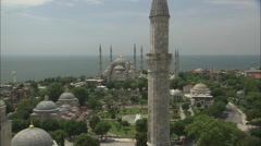 Sultanahmet Blue Mosque Stock Footage
