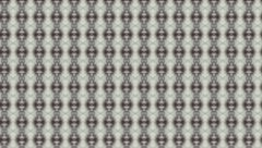Abstract kaleidoscopic pattern in gray colors. Stock Footage