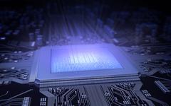 Microchip Stock Illustration