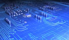 Circuit board Stock Illustration