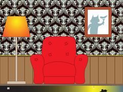 Interior illustration - stock illustration