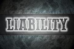 Liability concept Stock Illustration