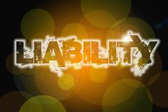 Liability concept Stock Illustration