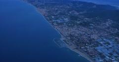 4K Aerial Spain Coastline Stock Footage