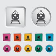 Train icon. Piirros