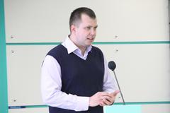 politician nikolai lyaskin - stock photo