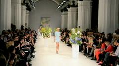 Ukrainian Fashion Week (ANDRE TAN), Kiev, Ukraine. Stock Footage