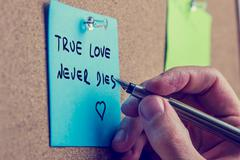True love never dies Stock Photos