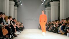 Ukrainian Fashion Week (Sasha Kanevski), Kiev, Ukraine. Stock Footage