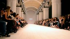 Ukrainian Fashion Week (PODOLYAN), Kiev, Ukraine. Stock Footage