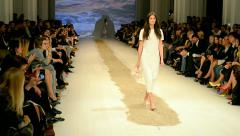 Ukrainian Fashion Week (ALONOVA), Kiev, Ukraine. Stock Footage