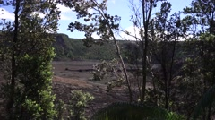 Volcanic Crater - stock footage