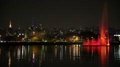 Ibirapuera Park in Sao Paulo, Brazil Stock Footage