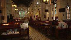 St. John Church at Hong Kong Stock Footage