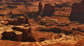 Canyonlands 42 Zoom In Grand View Point Utah USA Footage