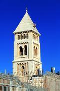 lutheran church of the redeemer (1893-1898), jerusalem - stock photo