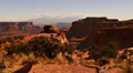 Canyonlands 44 Tilt Up Island in the Sky Shafer Canyon Utah USA Footage