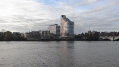 Putney Wharf Tower Stock Footage