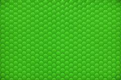Green shiny hexagon bubble tile texture background Stock Photos