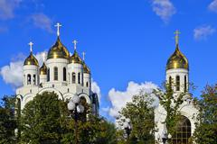 Stock Photo of Cathedral of christ the savior, kaliningrad, russia