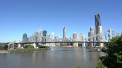 Brisbane Skyline Stock Footage