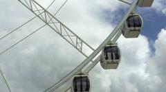 Ferris wheel 01 Stock Footage