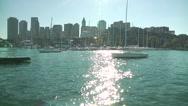 Stock Video Footage of Boston Harbor