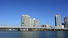 Southport Skyline in Gold Coast Queensland Australia 01 Stock Footage