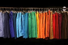 Stock Photo of colorful shorts