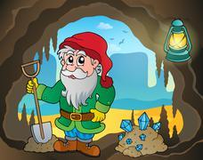 mine theme image - illustration. - stock illustration