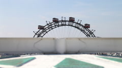 Stock Video Footage of The famous Giant Wheel in Vienna - Austria