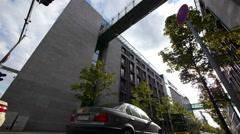Street traffic in Berlin, Germany - stock footage