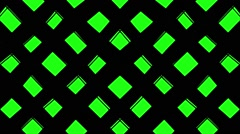 Squares Green Version VJ Loop VJ Loop - stock footage