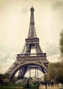 tour eiffel in paris - stock photo