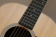 Beautiful close up abstract picture of a classical acoustic guitar with soft Kuvituskuvat