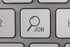 Find Job Button - stock illustration