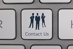Business Contact Us - stock illustration