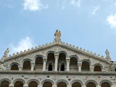 Stock Photo of pisa - duomo facade
