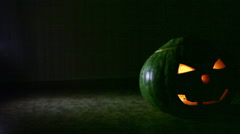 Halloween pumpkin - stock footage