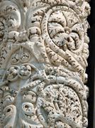 Pisa - duomo facade.  timeless evidence of the former richness Stock Photos