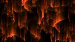 4k Streaks of orangeLight Abstract Motion Background, seamless loop - stock footage