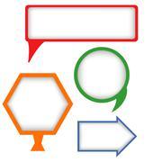 Text box Stock Illustration