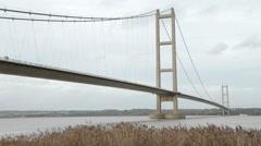 Humber Bridge - stock footage
