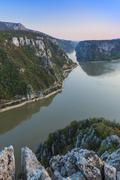 the danube gorges, romania - stock photo