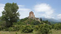 Fortress gremi, georgia, europe Stock Photos