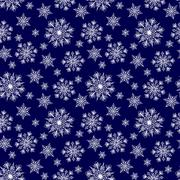 Seamless winter background - stock illustration