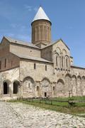 monastery alawerdi, kakheti, georgia, europe - stock photo