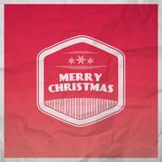Christmas joy background Stock Illustration